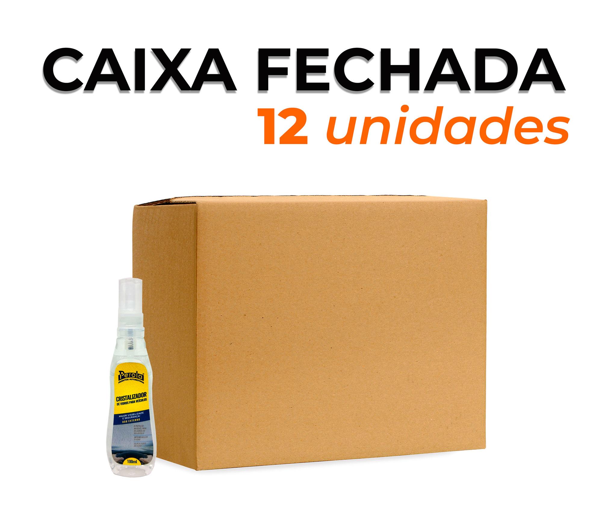 CAIXA CRISTALIZADOR DE VIDROS | 100ml
