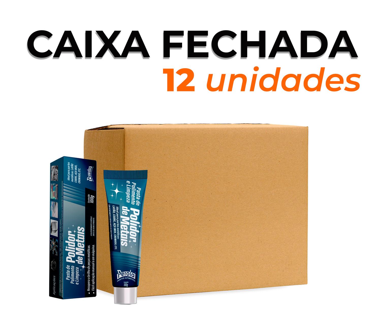 CAIXA POLIDOR DE METAIS | 100gr