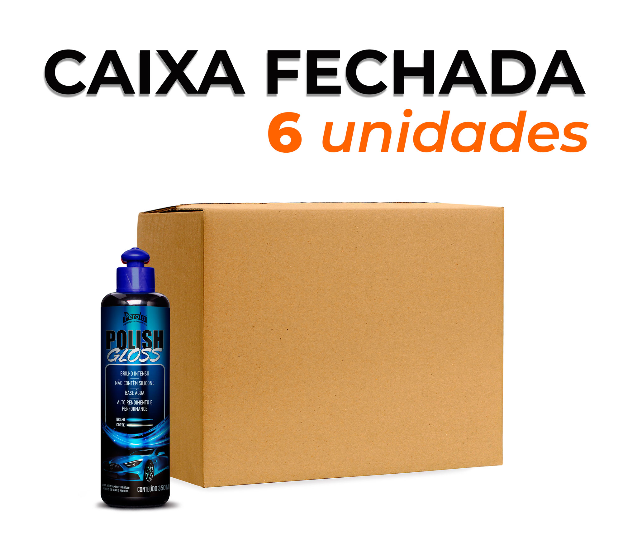 CAIXA POLIDOR GLOSS   350ml