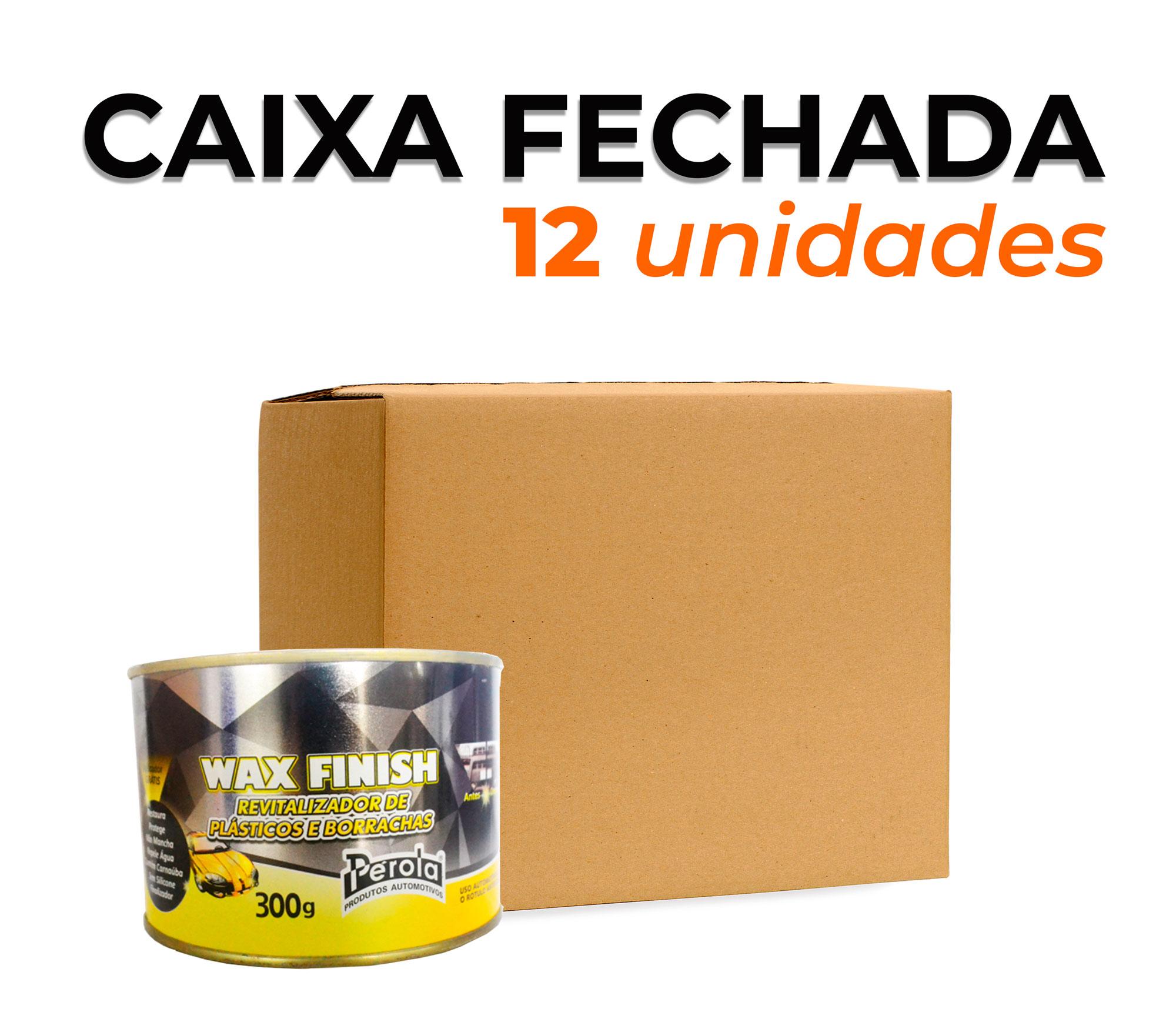 CAIXA REVITALIZADOR DE PLÁSTICOS E BORRACHAS | 300 gr