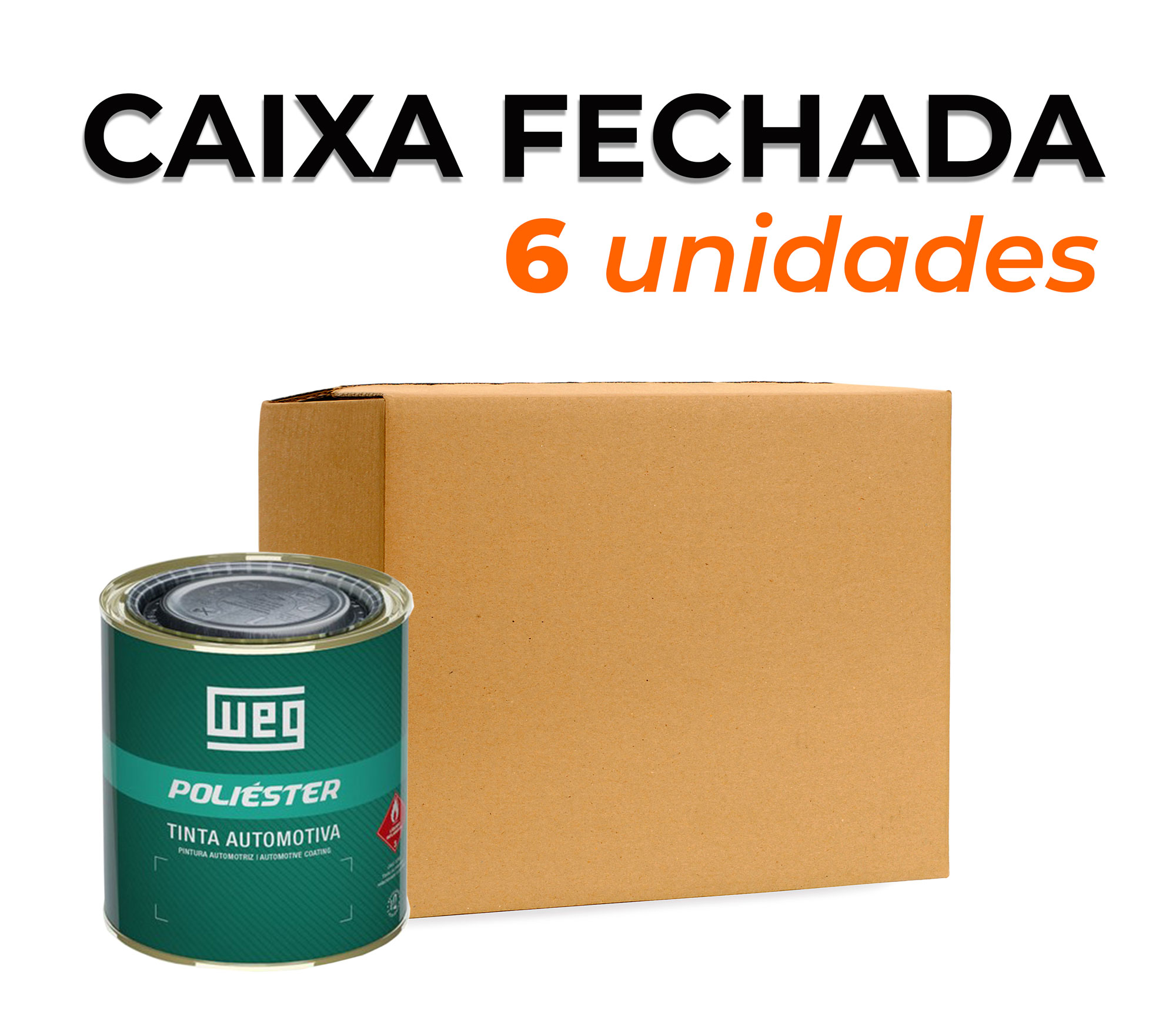CAIXA TINTA POLIÉSTER PRETO GLOBAL | GM 2013 | 900ml