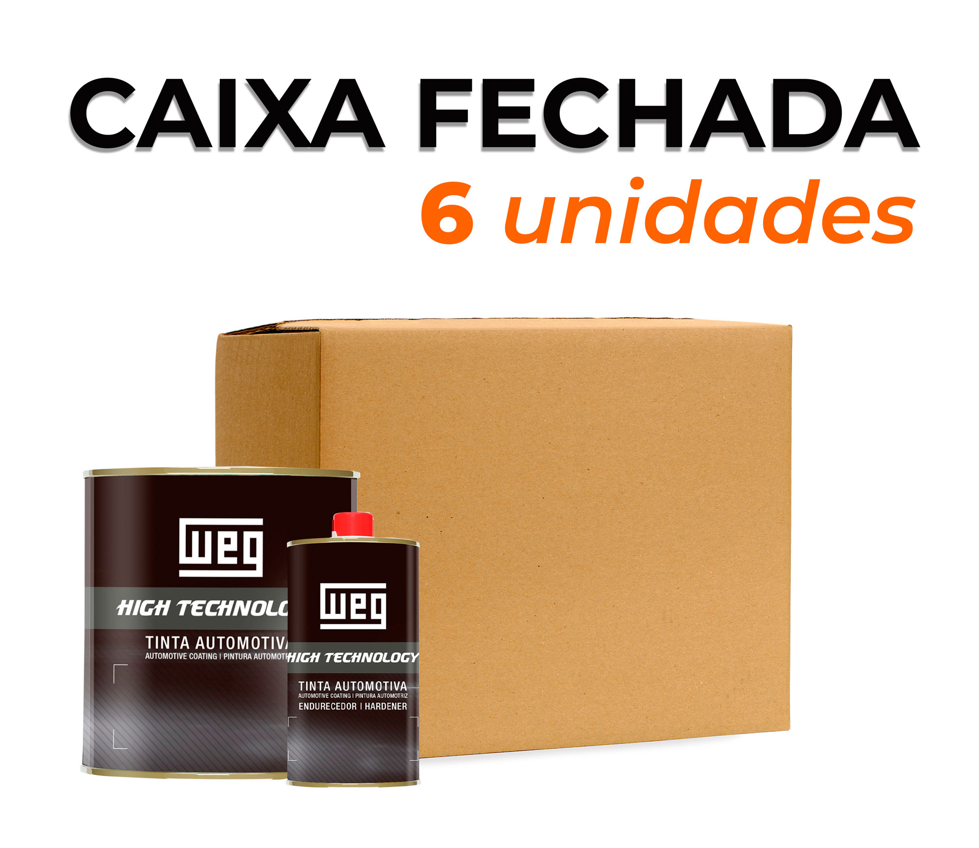 CAIXA VERNIZ ALTO SÓLIDO W30 900 ml + CATALISADOR BAIXA TEMPERATURA 450 ml