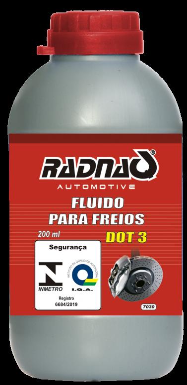FLUIDO DE FREIO RADNAQ | DOT 3