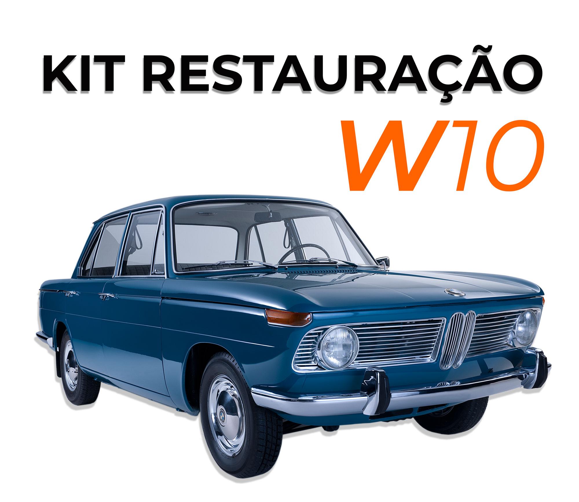 KIT RESTAURAÇÃO LINHA W10