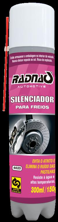 SILENCIADOR DE FREIOS RADNAQ | 300ml