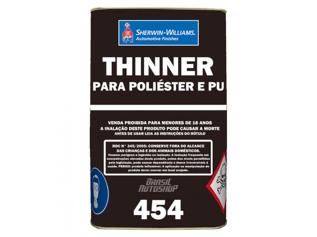 THINNER 454 POLIÉSTER E PU 5L