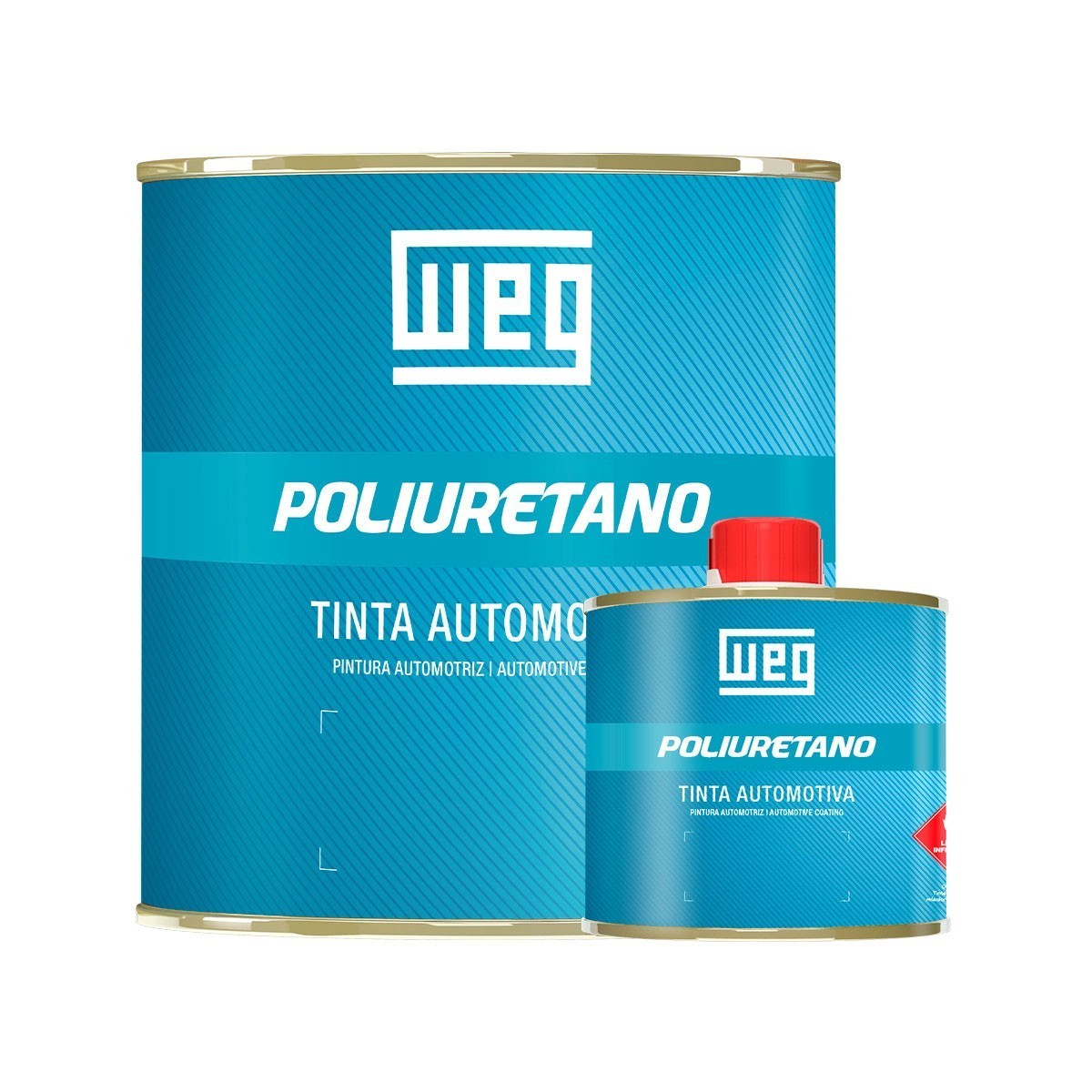 TINTA POLIURETANO VERMELHO FLASH 2   VOLKSWAGEN 2000   675 ml