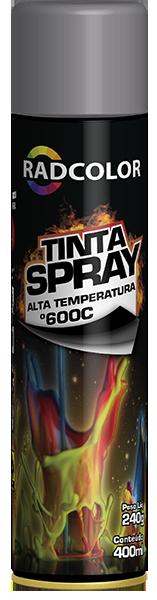 TINTA SPRAY ALTA TEMPERATURA | RADNAQ