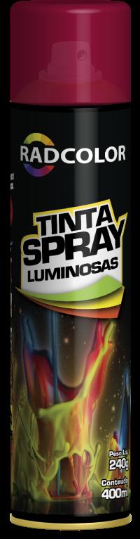 TINTA SPRAY LUMINOSAS | RADNAQ