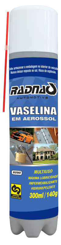 VASELINA AEROSSOL RADNAQ | 300 ml