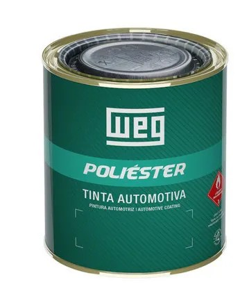 TINTA POLIÉSTER PRETO VULCANO | FIAT 2001 | 900 ml
