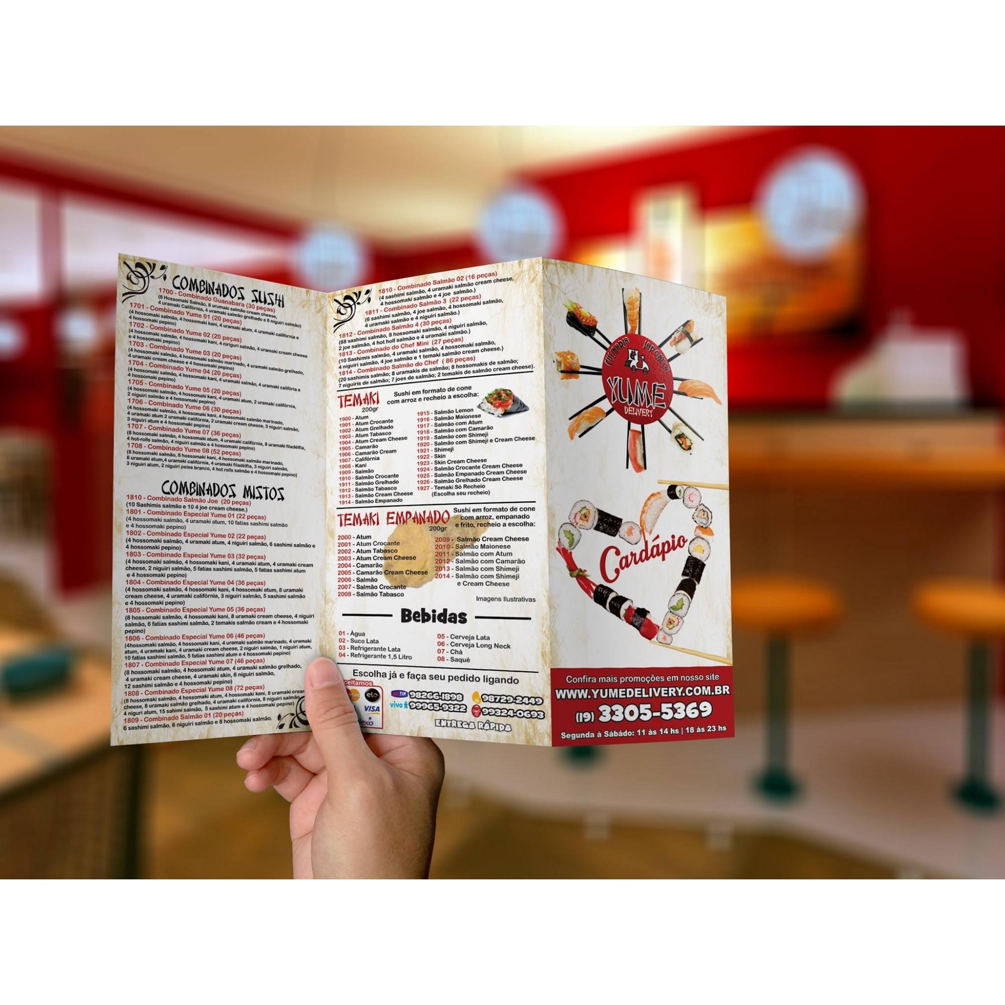 Panfletos Promocionais - 90gr ( Frente e Verso )