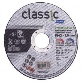 Disco de corte para aço e inox 115mm