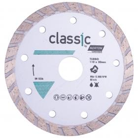 Disco Diamantado Classic Norton Turbo 110mm
