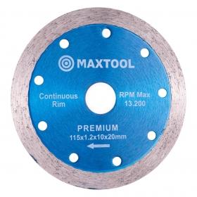 Disco diamantado continuo Maxtool 115mm