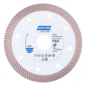 Disco Diamantado Norton Pro Porcelanato 110mm