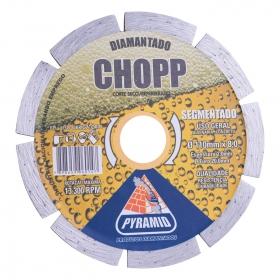 Disco Diamantado Segmentado Chop 110mm
