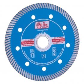Disco Diamantado Porcelanato Turbo Fino 110mm