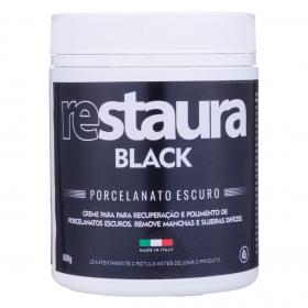 Restaura black porcelanato 800g