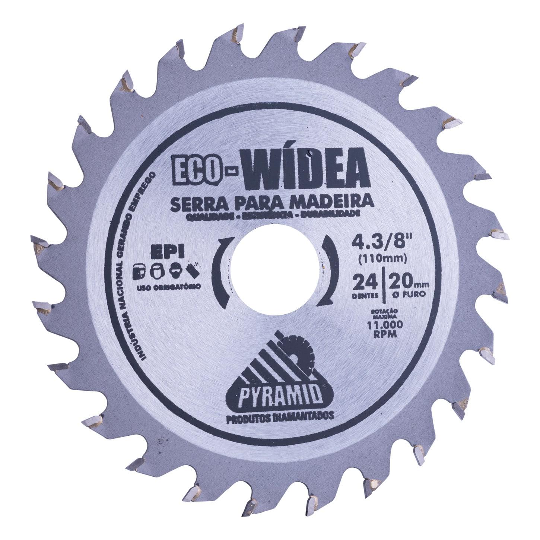 Disco de corte para madeira Eco-Wídea 110mm