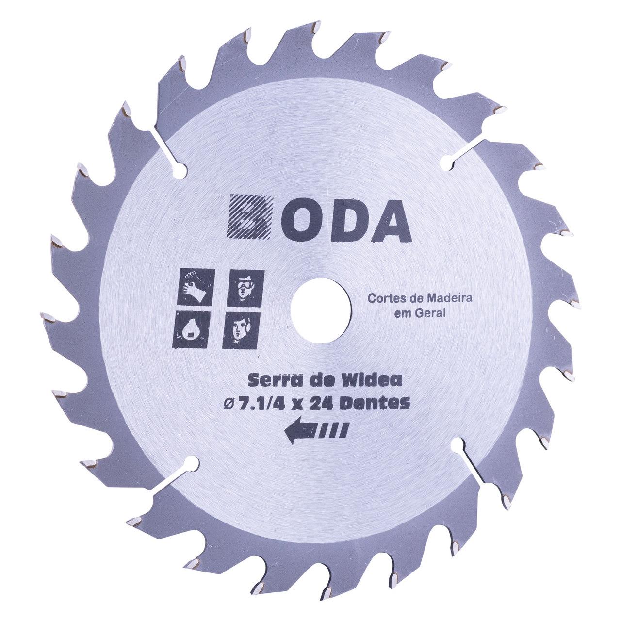 Disco de corte wídea 180mm 24D Boda