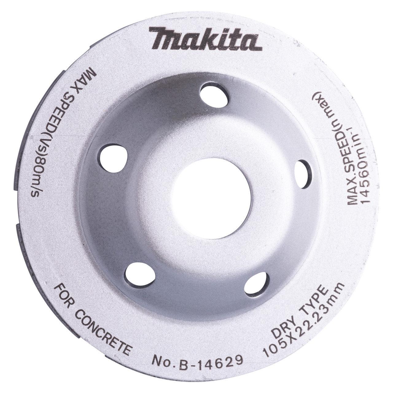 Disco de Desbaste Diamantado Makita para Concreto 105mm