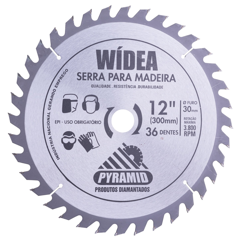 Disco de serra Wídea 300mm 36 dentes