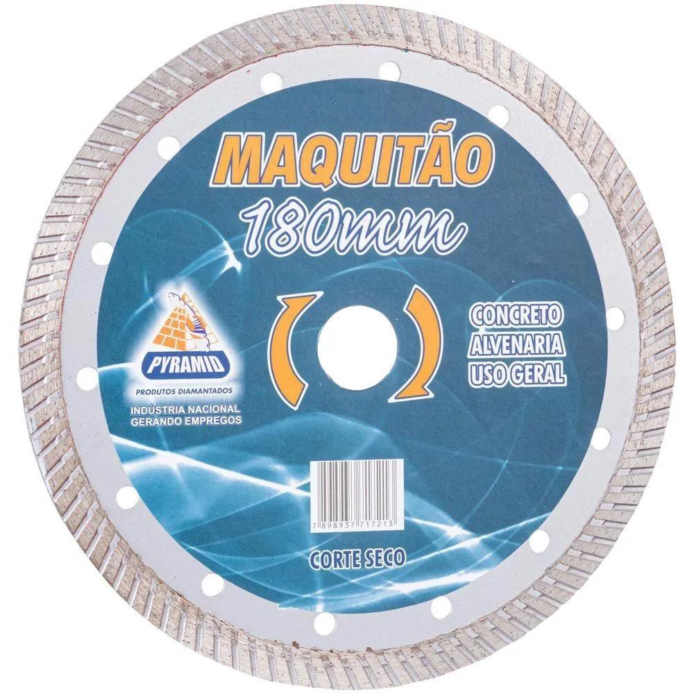 Disco Diamantado Maquitão Turbo Pyramid 180mm