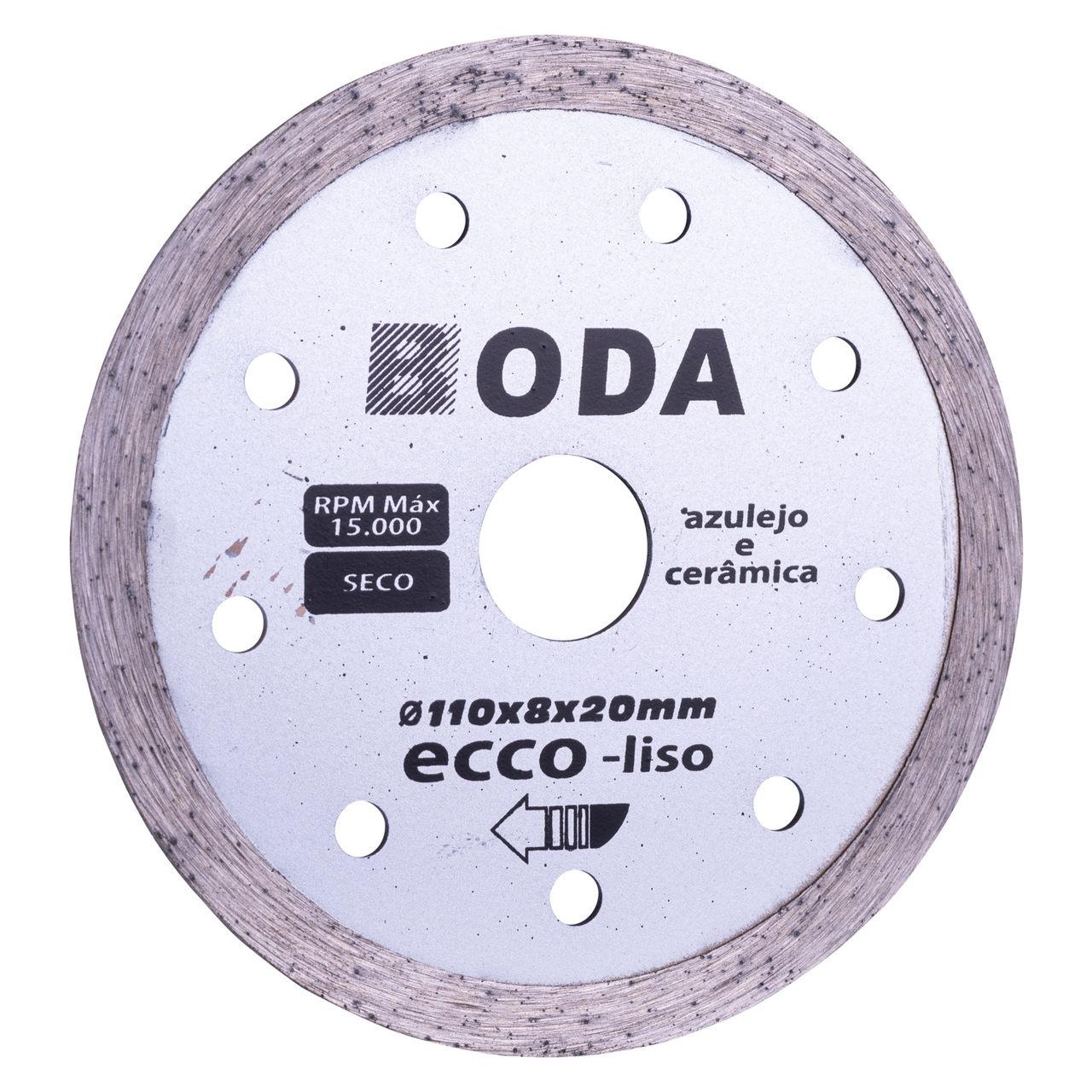 Disco diamantado Boda Ecco continuo 110mm