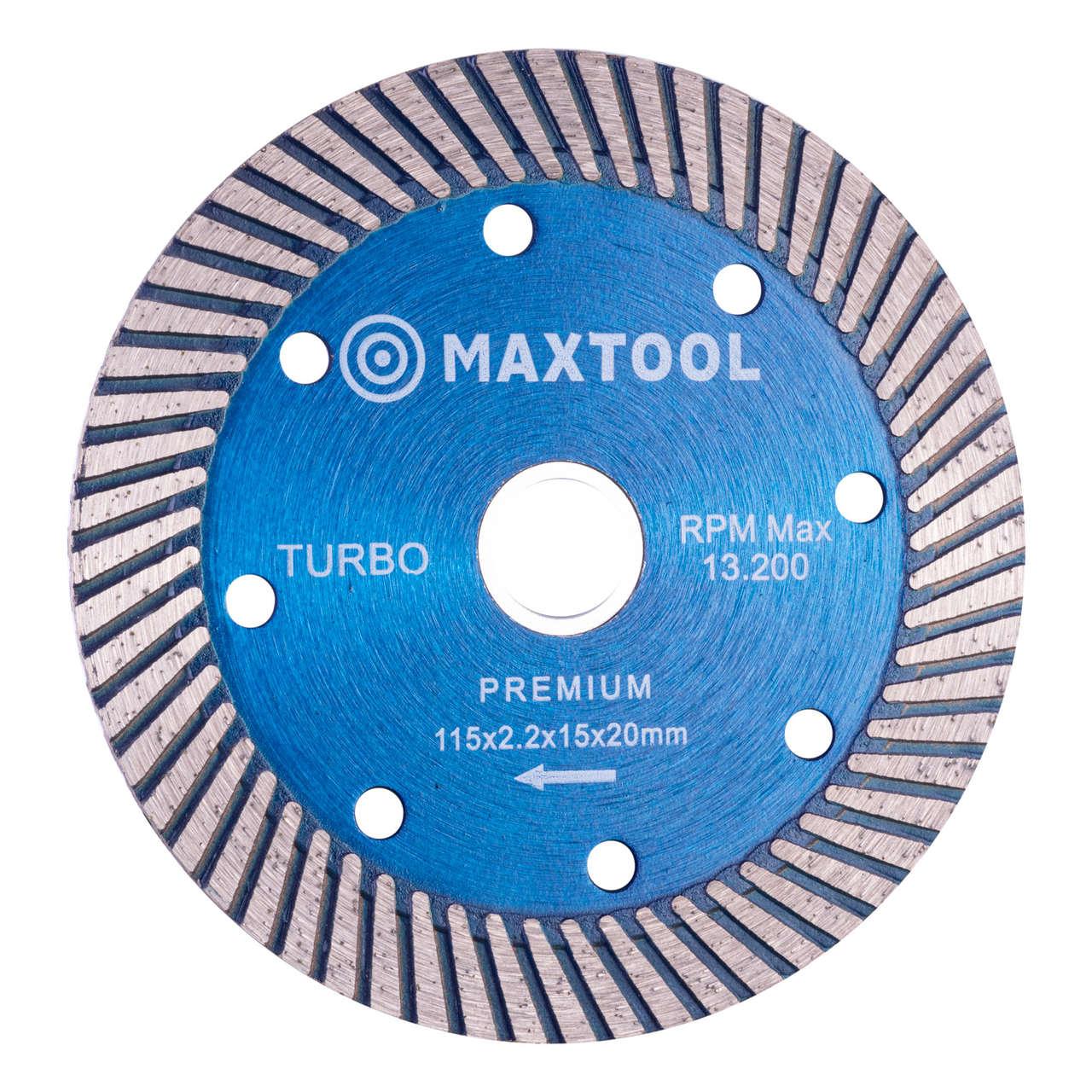 Disco diamantado extra turbo maxtool 115mm