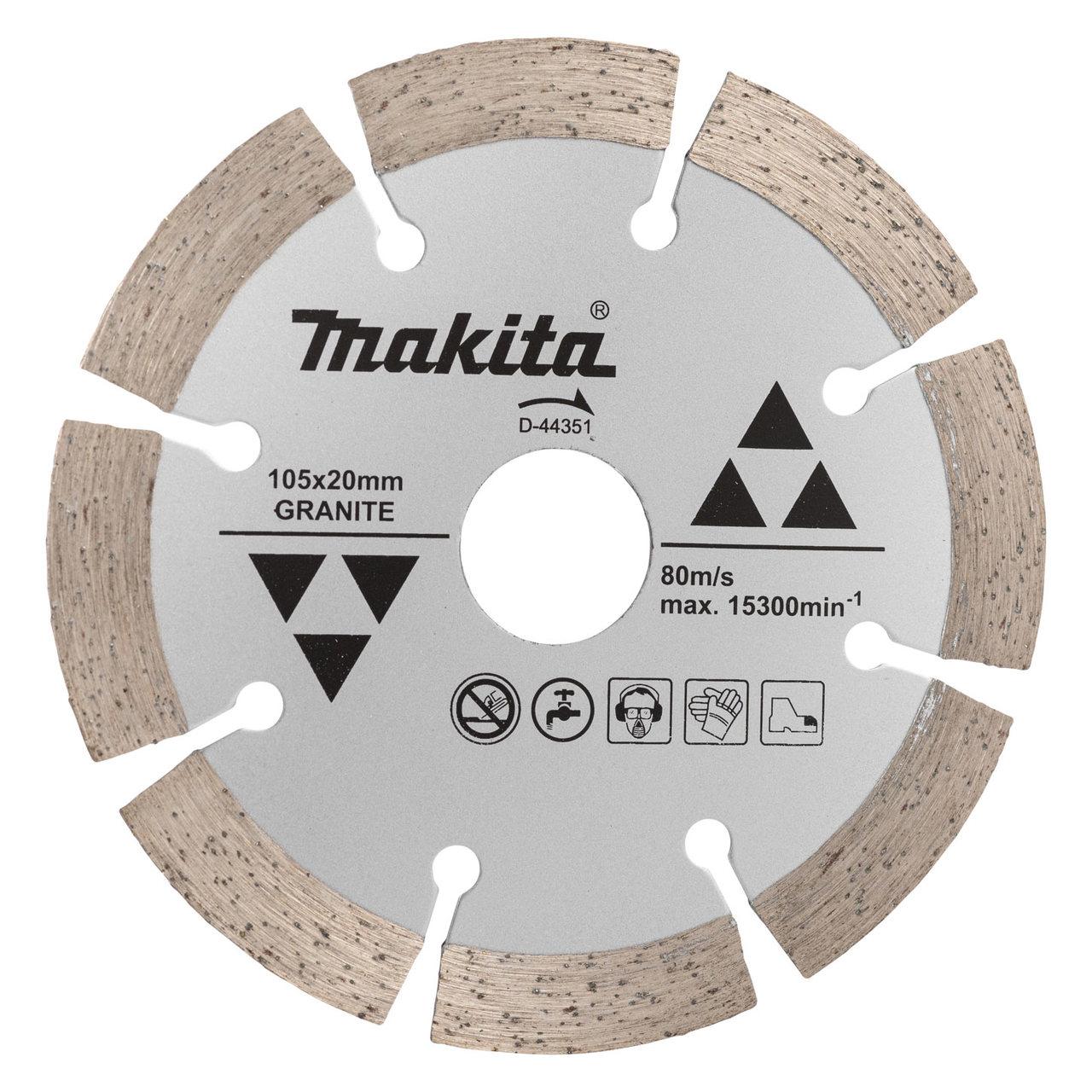 Disco diamantado Makita 105mm