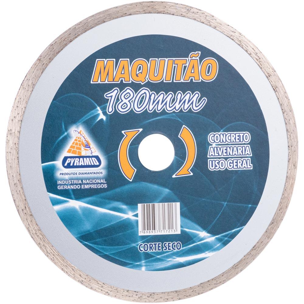 Disco Diamantado Maquitão Contínuo Pyramid 180mm