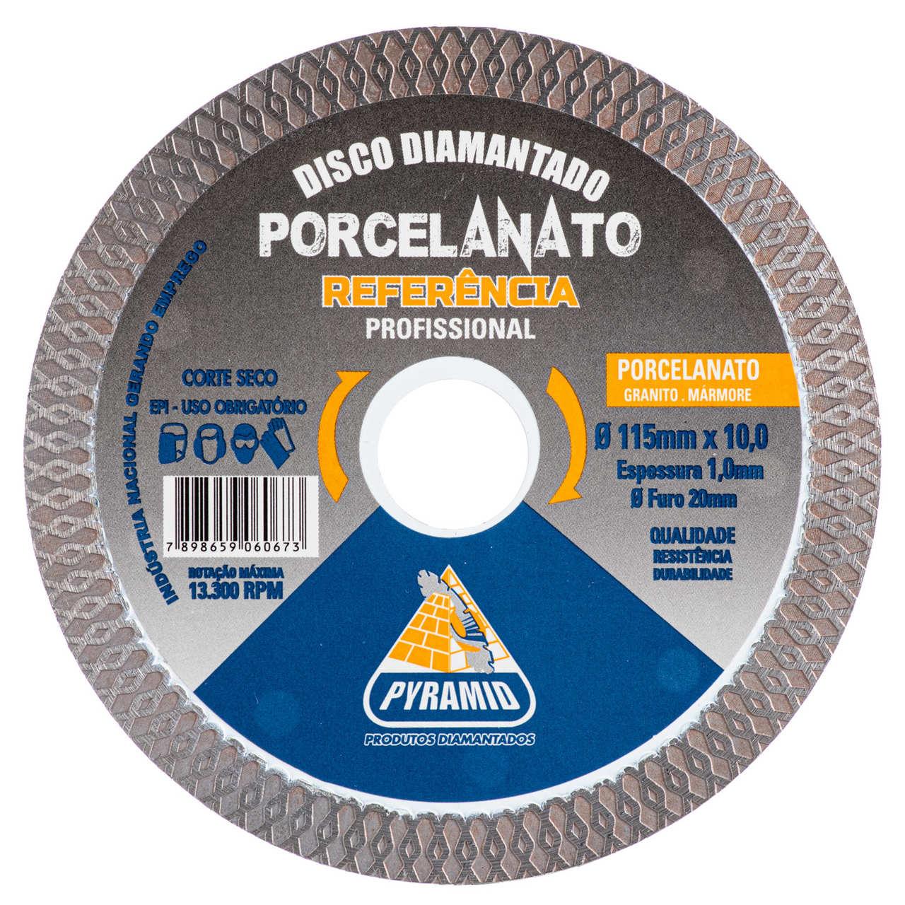 Disco Diamantado Porcelanato 115mm