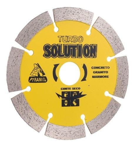 Disco Diamantado Segmentado Solution 115mm