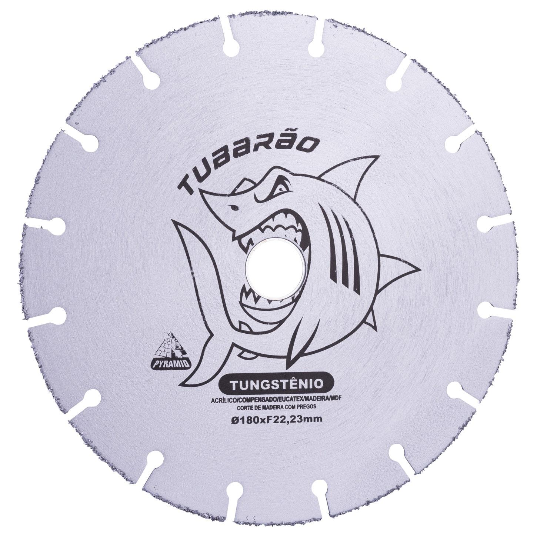 Disco Diamantado Tungstênio Tubarão 180mm