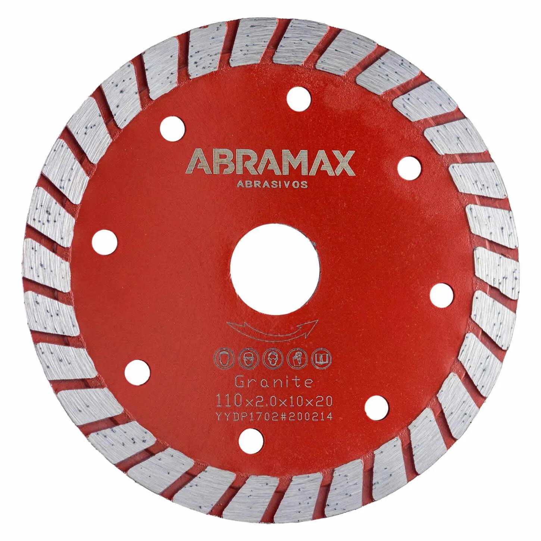 Disco Diamantado Turbo Abramax Saint 110mm