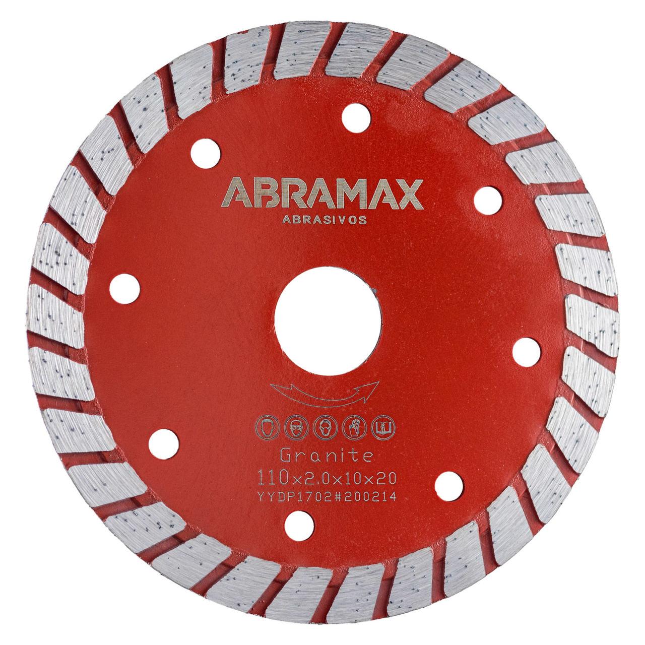 Disco Diamantado Turbo Abramax 110mm