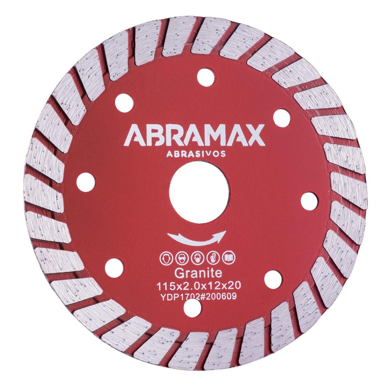 Disco Diamantado Turbo Abramax 115mm