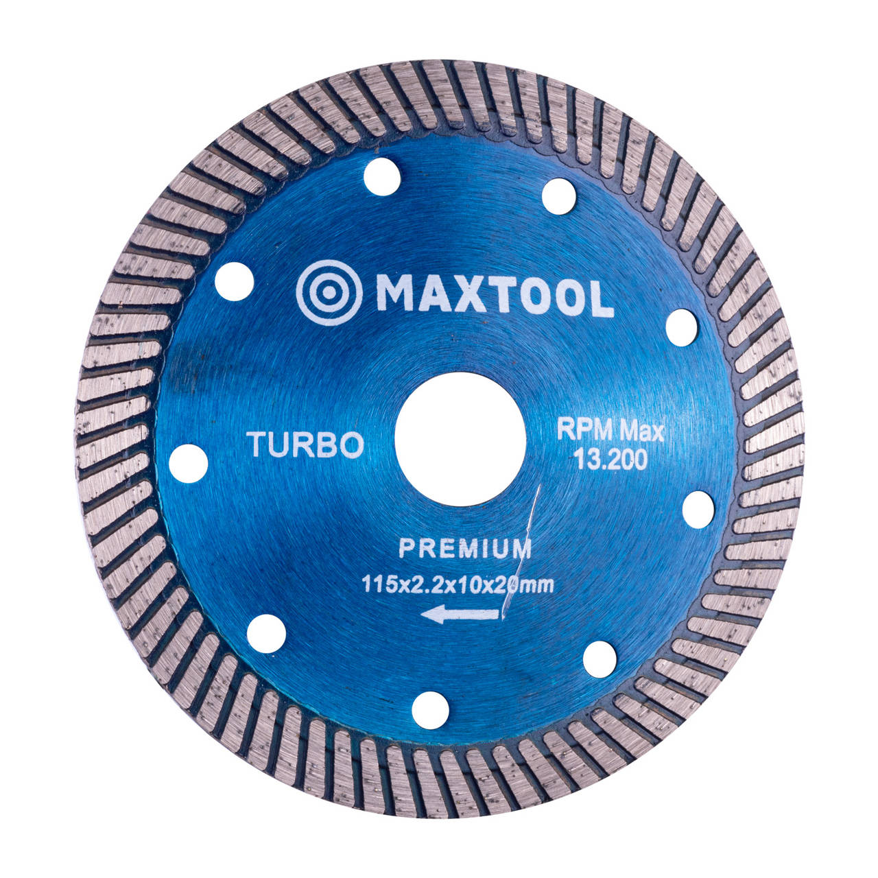 Disco diamantado turbo concavo 115mm Maxtool