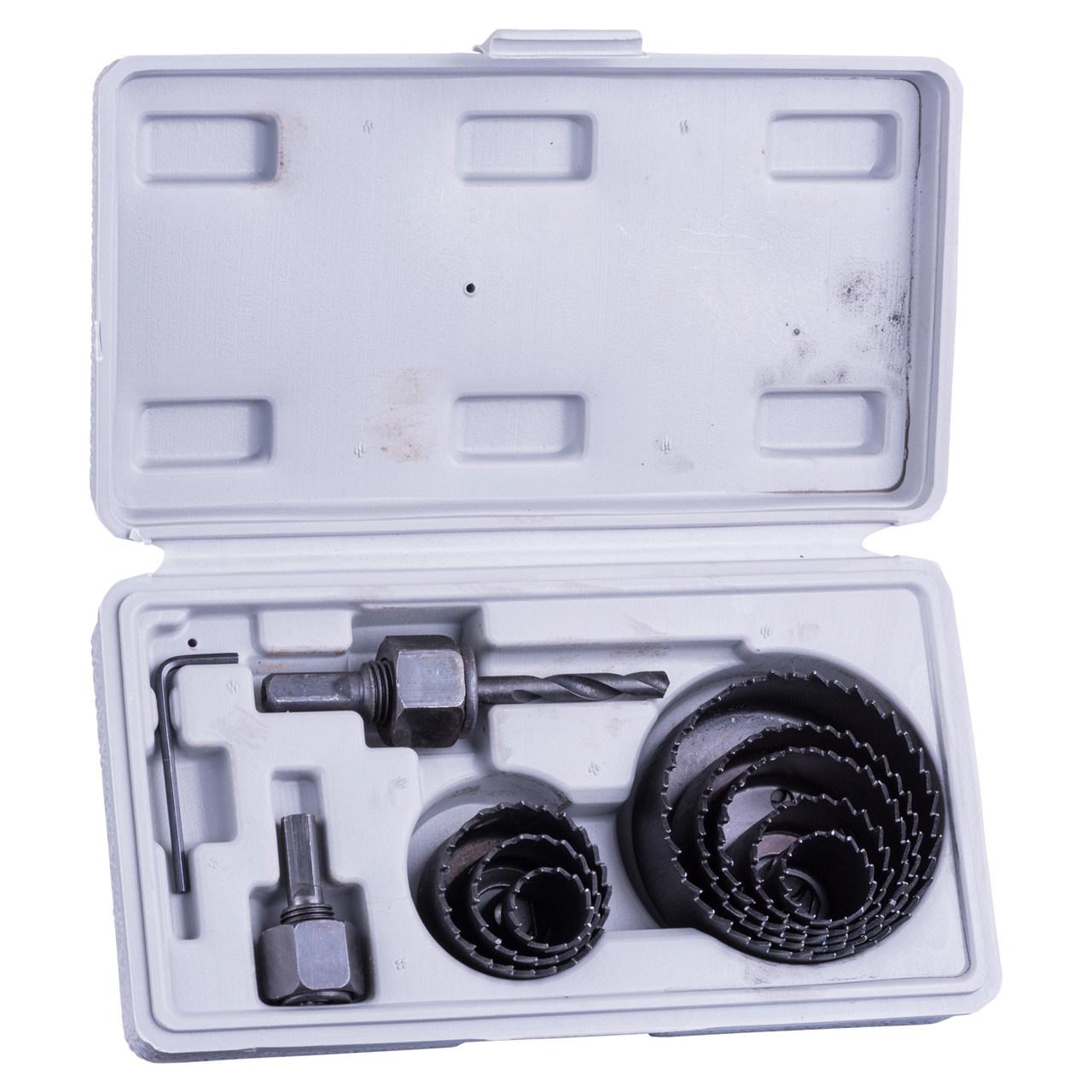 Kit Broca Serra Copo para Madeira 11 Peças 19 até 64mm