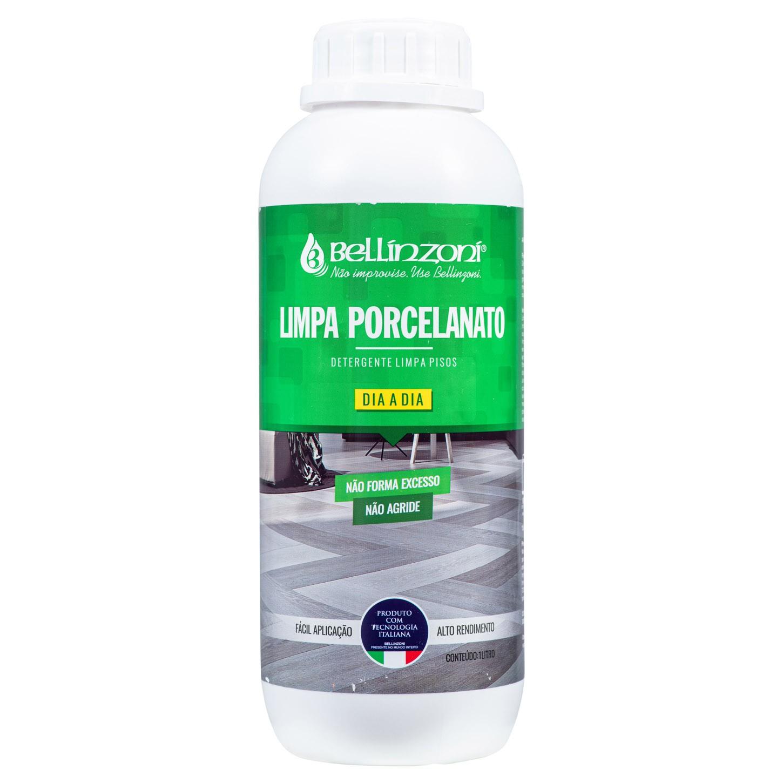 Limpa Porcelanato Detergente Limpeza Dia a Dia Bellinzoni 1L