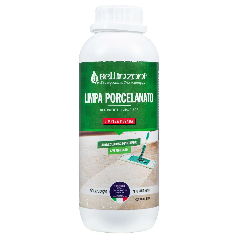 Limpa Porcelanato Detergente Limpeza Pesada Bellinzoni 1L
