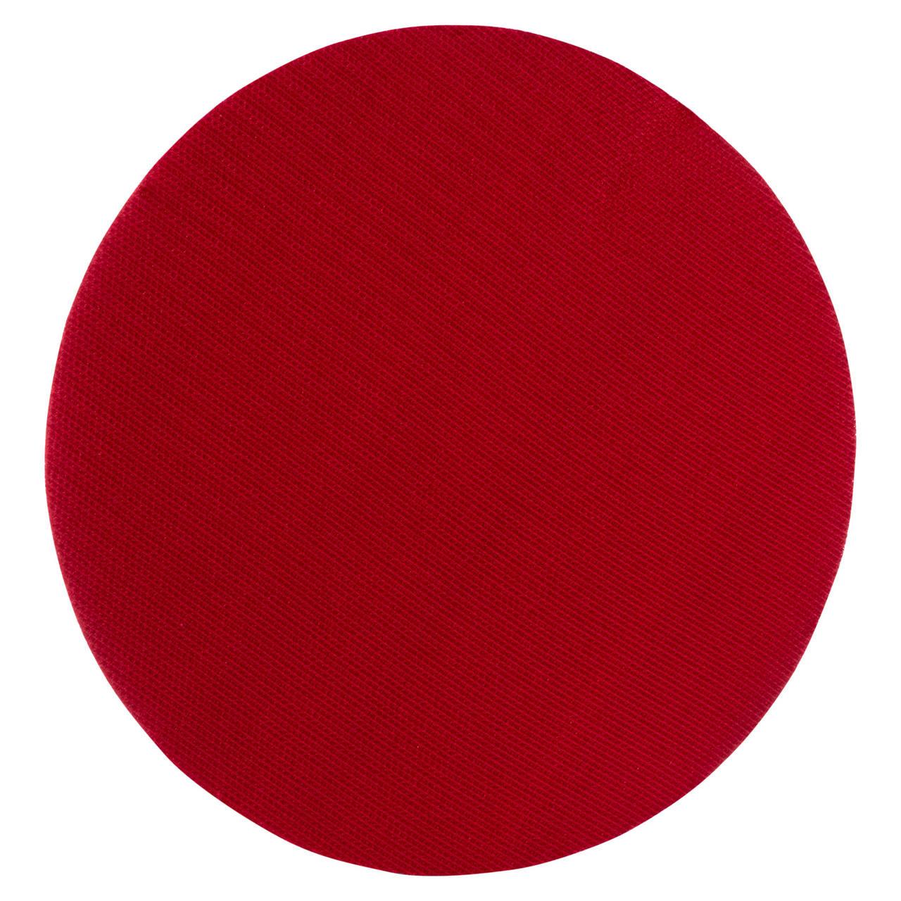 Prato Com Velcro Espuma 7'' Vermelho