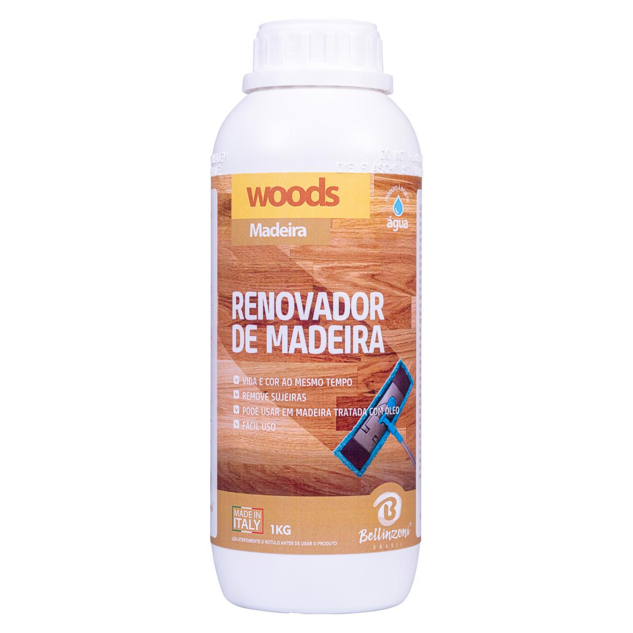 Renovador Woods para madeira Bellinzoni 1kg