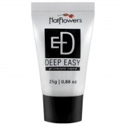 Deep Easy Gel Lubrificante Anal e Relaxante Muscular - Hot Flowers