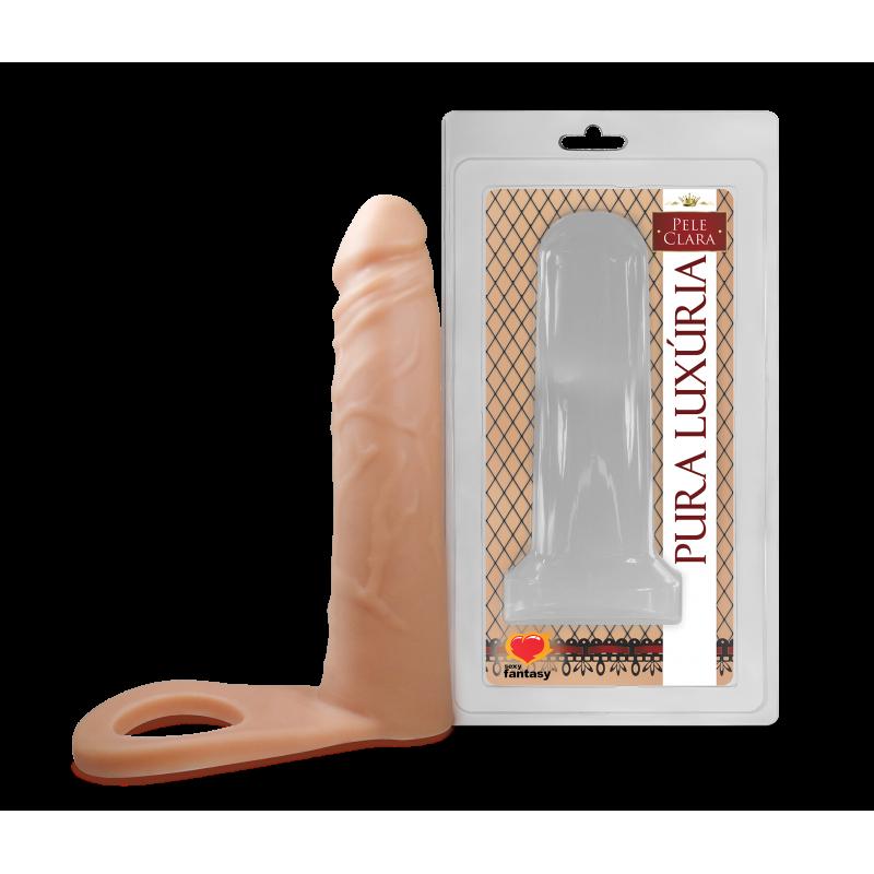 Anel Companheiro Pênis Dupla Penetração - 16 X 3,8 cm