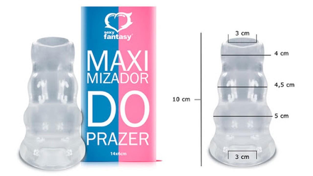 Capa Peniana Maximizador do Prazer - Sexy Fantasy