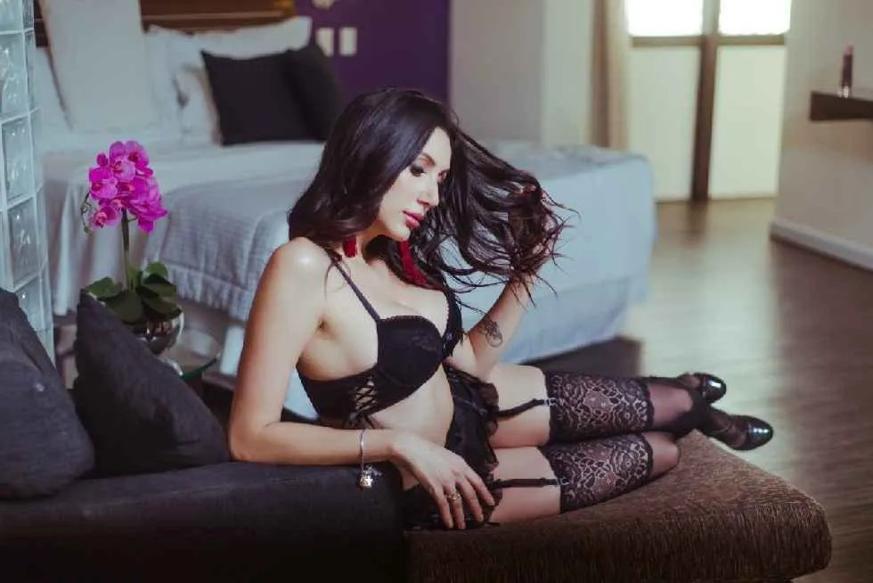 Conjunto Cinta Liga Renda - Vanina Gabriela