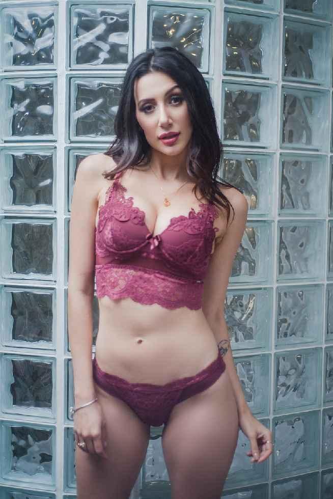 Conjunto Croppet Rendado - Vanina Gabriela