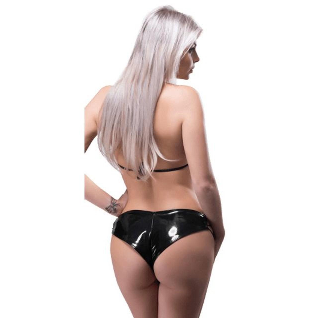 Conjunto Short e Top Vinil Linha Submission - Sexy Fantasy